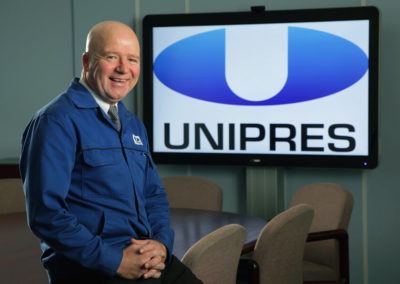 Gary Graham Unipres Automotive Manufacturer