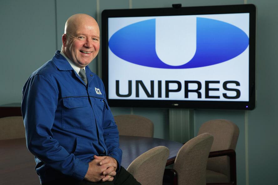 Gary Graham Unipres Automotive Manufacturer