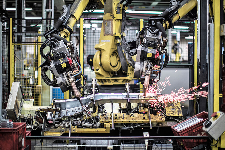 Unipres Robot Welding