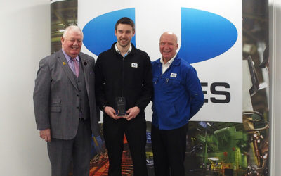Rhys named Apprentice of the Year