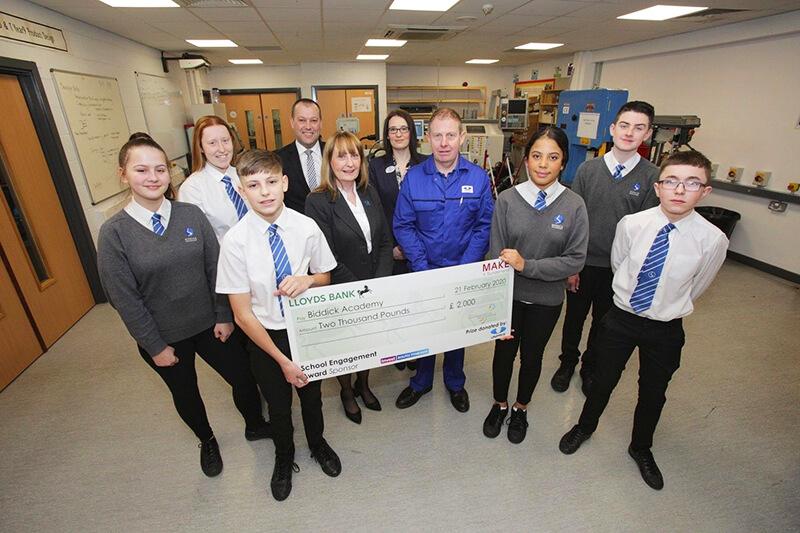 Unipres donates award win to local school